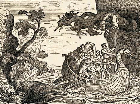 Image result for scylla and charybdis