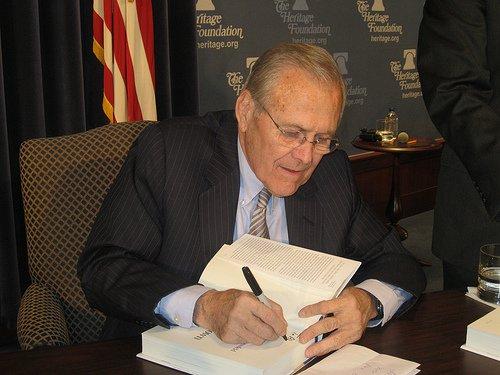 rumsfeld photo